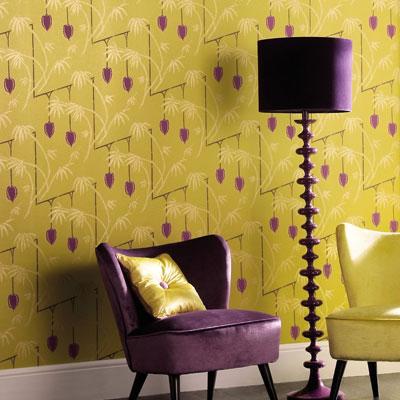 Purple And Chartreuse Decor Apartments I Like Blog