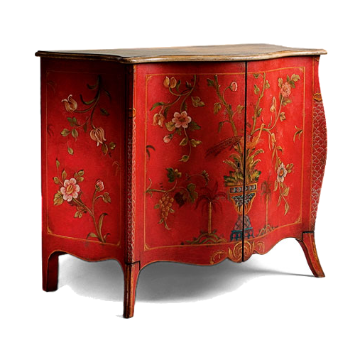 Red-Painted-Chest-From-Ital-Design-Furniture