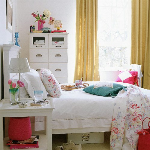 Student bedrooms vintage decor apartments i like blog - Dormitorios vintage chic ...