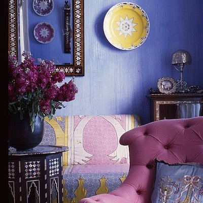 Moroccan style decor apartments i like blog - Moroccan living room design ...