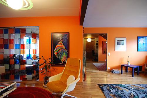 orange room of the week