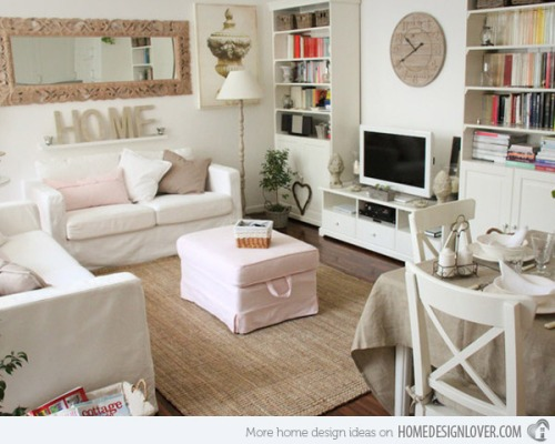 Shabby chic apartments i like blog for Modern shabby chic living room ideas