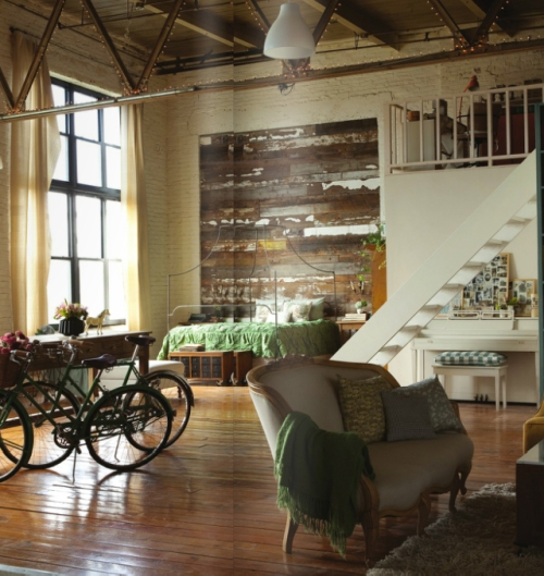 Industrial And Loft Living: Apartments I Like Blog
