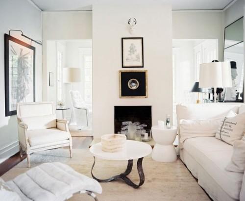 cozy white rooms