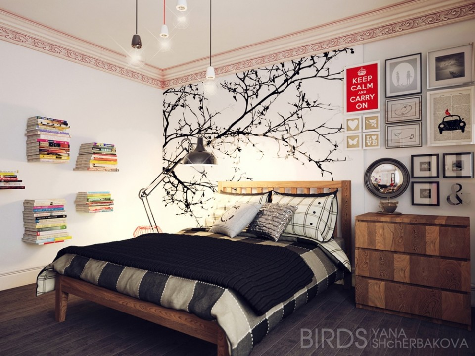 tree wall decor | Apartments i Like blog