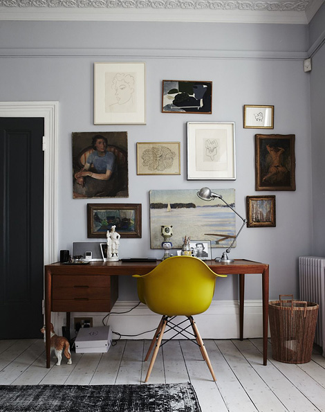 vintage apartment office