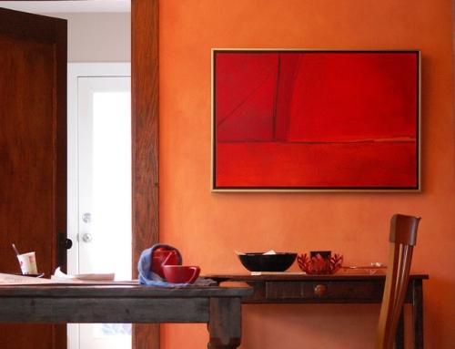 orange decor