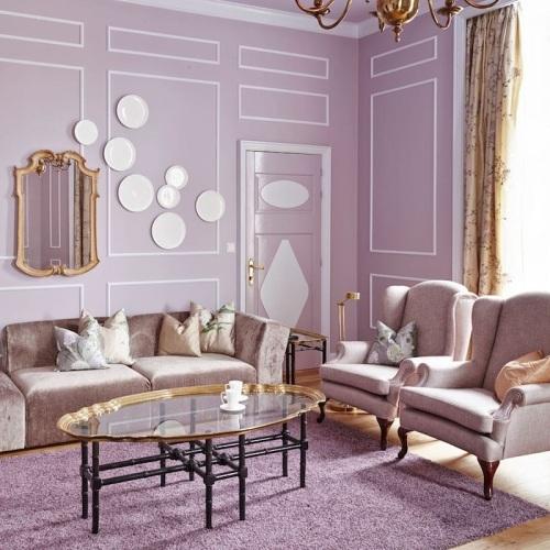 lilac walls