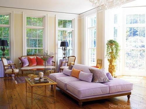 Decorating apartments i like blog Lilac living room ideas