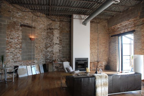 warehouse loft room of the week