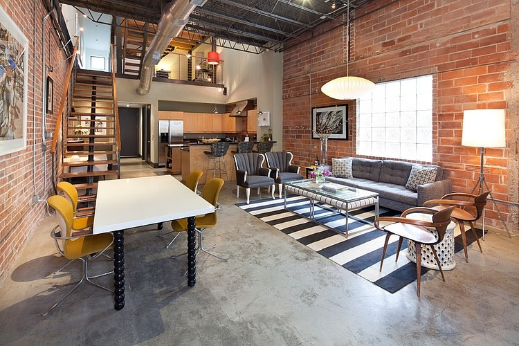 Living In A Loft : industrial loft  Apartments i Like blog