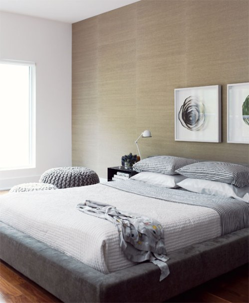 Beige And Gray Bedrooms
