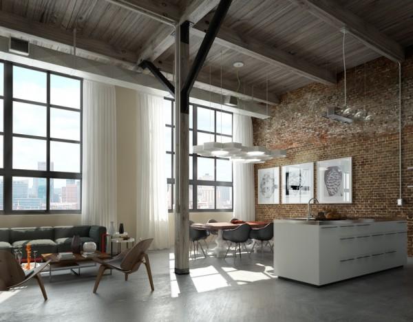 Brick Lofts   Apartments i Like blog