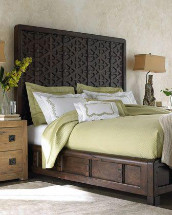marrakesh bedroom via Horchow