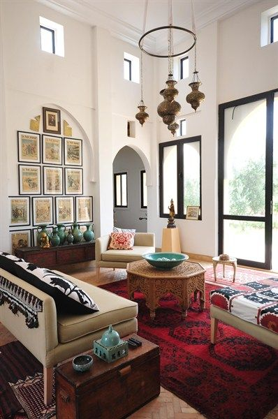 moroccan inspiration living room