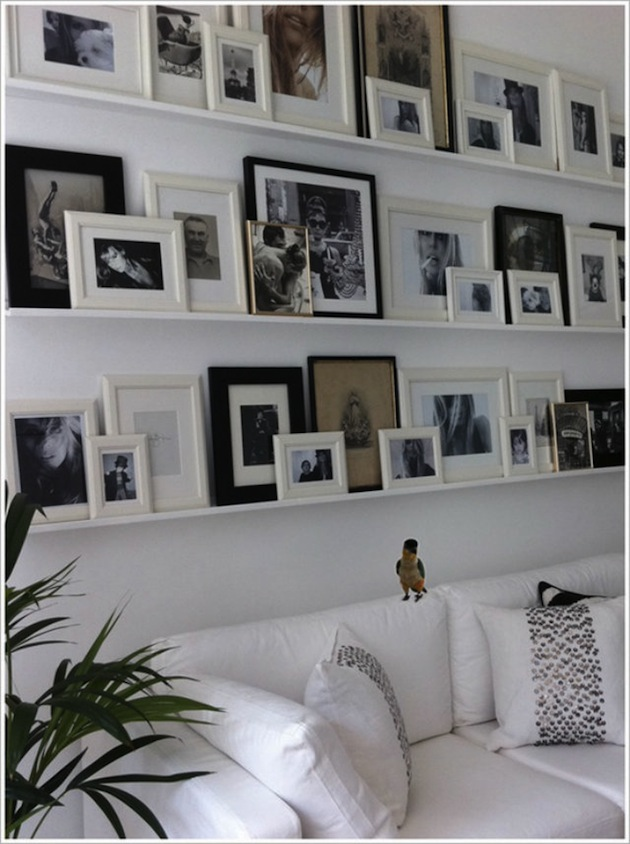 Photography Wall Gallery Apartments I Like Blog Classy Floating Shelves For Picture Frames